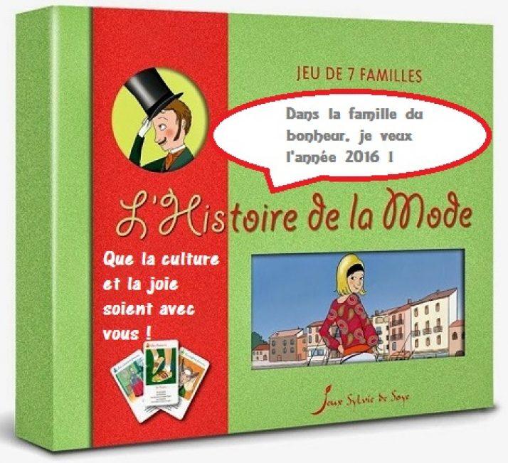 Jeux Sylvie de Soye : dans la famille bonheur, je veux l'année 2016 !